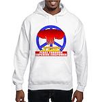 Peace Through Superior Firepo Hooded Sweatshirt
