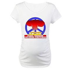 Peace Through Superior Firepo Shirt