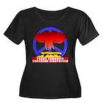Peace Through Superior Firepo Women's Plus Size Sc