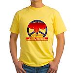 Peace Through Superior Firepo Yellow T-Shirt