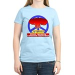 Peace Through Superior Firepo Women's Light T-Shir