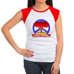 Peace Through Superior Firepo Women's Cap Sleeve T