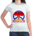 Peace Through Superior Firepo Jr. Ringer T-Shirt