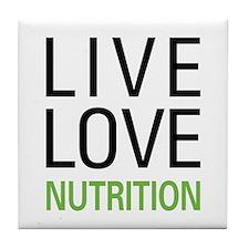 Live Love Nutrition Tile Coaster