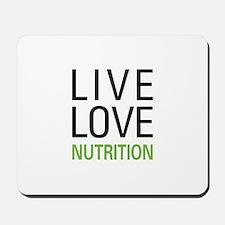Live Love Nutrition Mousepad