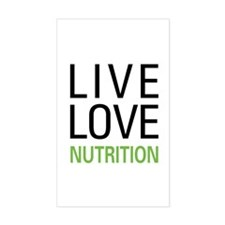 Live Love Nutrition Rectangle Decal