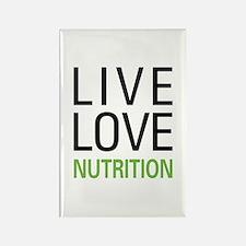 Live Love Nutrition Rectangle Magnet
