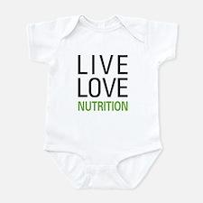 Live Love Nutrition Infant Bodysuit