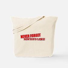 Newton's Laws Tote Bag