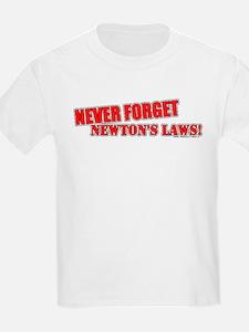 Newton's Laws T-Shirt