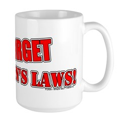 Newton's Laws Large Mug