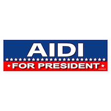 AIDI Bumper Bumper Sticker
