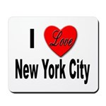 I Love New York City Mousepad