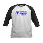 Vote Democrat Kids Baseball Jersey
