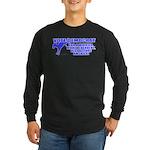 Vote Democrat Long Sleeve Dark T-Shirt