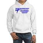 Vote Democrat Hooded Sweatshirt