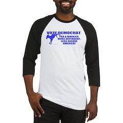 Vote Democrat Baseball Jersey