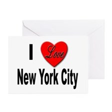 I Love New York City Greeting Cards (Pk of 10)