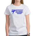 Vote Democrat Women's T-Shirt