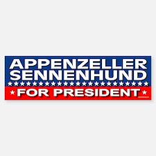 APPENZELLER SENNENHUND Bumper Bumper Bumper Sticker