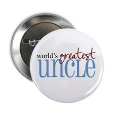 """World's Greatest Uncle 2.25"""" Button (100 pack)"""