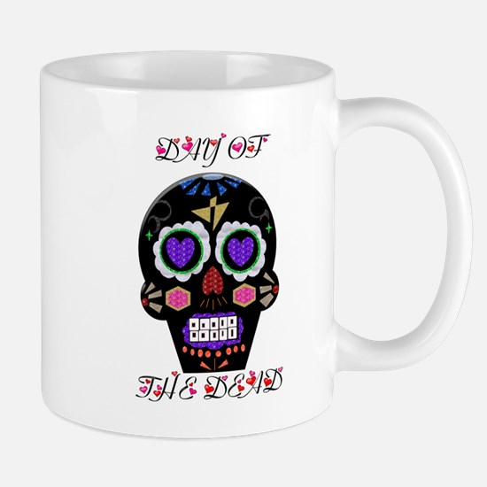 Day Of The Dead - Hearts Mugs