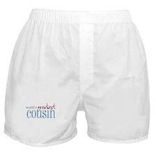 World's Greatest Cousin Boxer Shorts