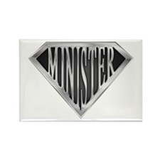 SuperMinister(metal) Rectangle Magnet