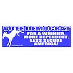 Vote Democrat Bumper Sticker