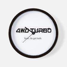 4WD Turbo Clock