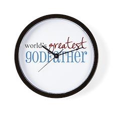 World's Greatest Godfather Wall Clock