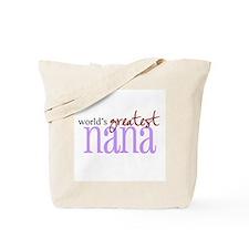 World's Greatest Nana Tote Bag