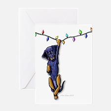 Dangling Doxie II Greeting Card