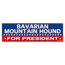 BAVARIAN MOUNTAIN HOUND Bumper Bumper Sticker