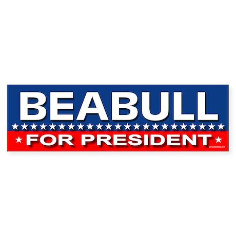 BEABULL Bumper Sticker