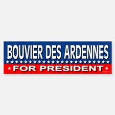 BOUVIER DES ARDENNES Bumper Bumper Bumper Sticker