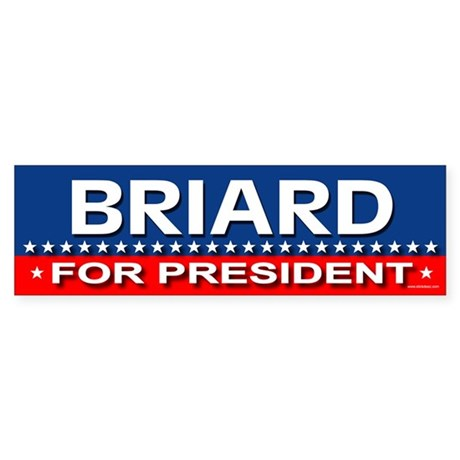 BRIARD Bumper Sticker