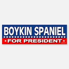 BOYKIN SPANIEL Bumper Bumper Bumper Sticker