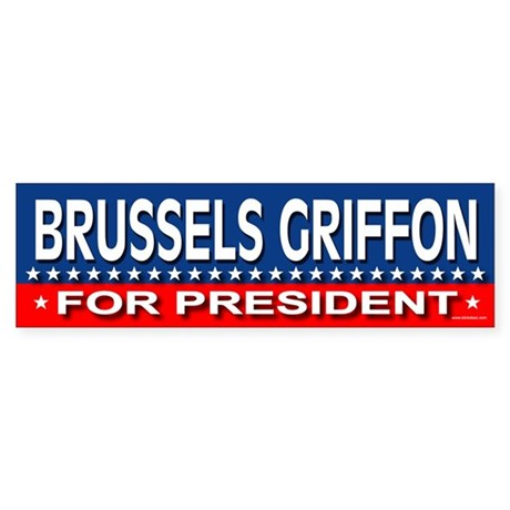 BRUSSELS GRIFFON Bumper Sticker