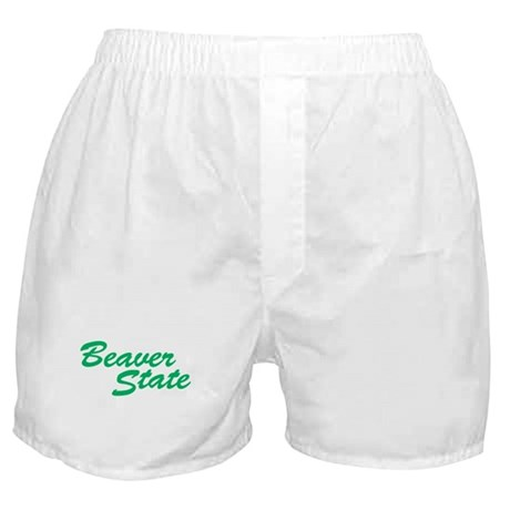 Oregon The Beaver State Boxer Shorts