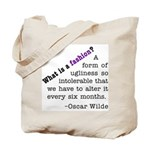 Wilde About Fashion Tote Bag