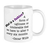 Wilde About Fashion Mug