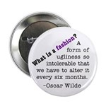 "Wilde About Fashion 2.25"" Button (10 pack)"