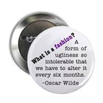 "Wilde About Fashion 2.25"" Button"