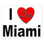 I Love Miami Small Poster