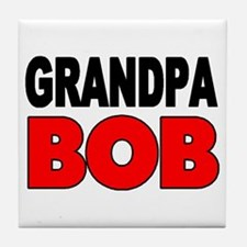 GRANDPA BOB Tile Coaster