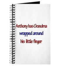 Anthony - Grandma Wrapped Aro Journal