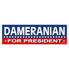 DAMERANIAN Bumper Bumper Sticker