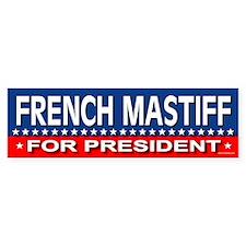 FRENCH MASTIFF Bumper Bumper Sticker