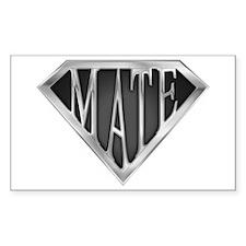 SuperMate(metal) Rectangle Decal